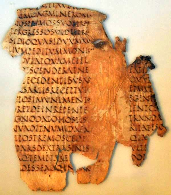 Fragment uit Sallustius' Oorlog tegen Jugurtha