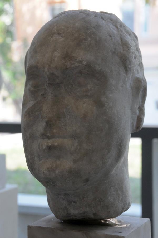 Onvoltooid portret van Vitellius (Archeologisch Museum van Plovdiv)