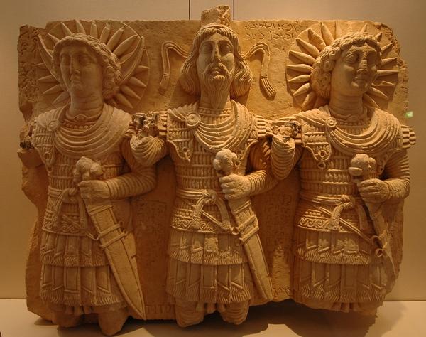 Drie goden uit Palmyra (Louvre, Parijs)