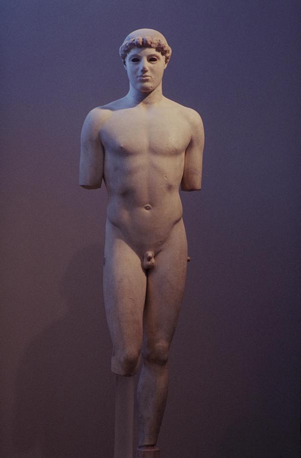 De Kritios-jongen (Akropolismuseum, Athene)