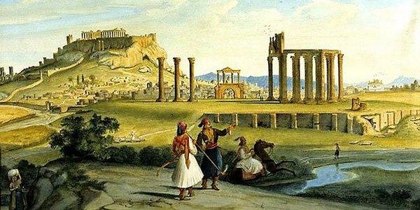 Athene, Tempel van Zeus